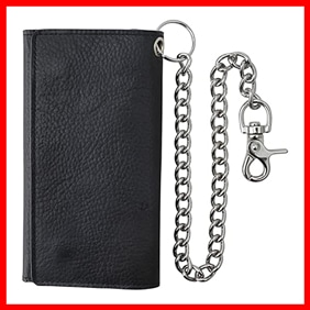F and L Classic Trifold Long Wallet
