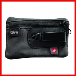 Lewis N. Clark RFID-Blocking Hidden Clip Stash Travel Belt Wallet, Black, One Size