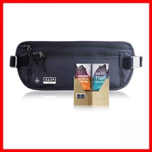Travel Money Belt with RFID Block – Theft Protection and Global Recovery Tags