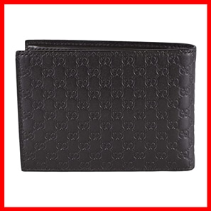 Brown GG Guccissima Leather Gucci Mens Wallet