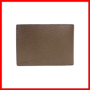 Men's Bifold Brown Leather Gucci Wallet