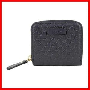 Midnight Blue Guccissima Leather Gucci Mens Wallet
