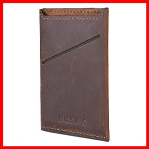 HUSKK RFID Wallet for Men Slim Front Pocket
