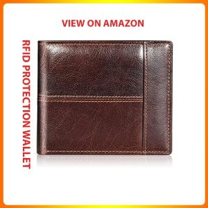 Swallowmall-Mens-Wallet-RFID-Genuine-Leather-Bifold-Wallets-For-Men