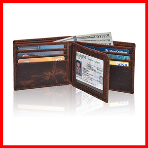 Clifton Heritage Men Leather Wallet