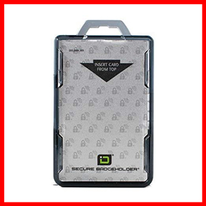 ID Stronghold RFID Blocking Secure Badge Card ID Holder