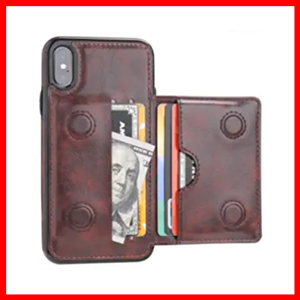 KIHUWEY iPhone Xs Wallet Case iPhone X Wallet Case Credit Card Holder
