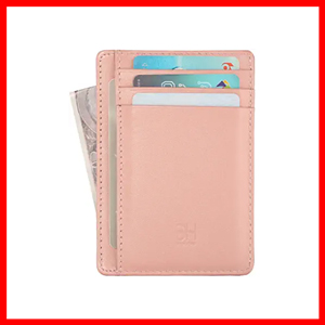 Slim RFID Blocking Card Holder Wallet for Women
