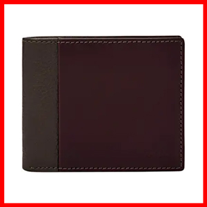 Fossil mens Ward Rfid Large Coin Pocket Bifold Wallet