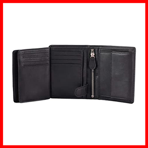 Mens Wallets by DiLoro Italy Large Leather Wallet