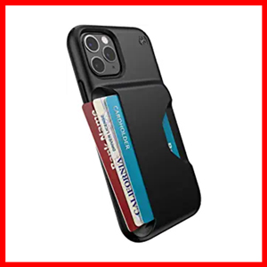 Speck Presidio Wallet iPhone 11 Pro Case, Black