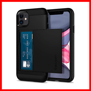 Spigen Slim Armor CS Designed for Apple iPhone 11 Case (2019) Black
