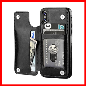 iPhone Xs iPhone X Wallet Case with Card Holder